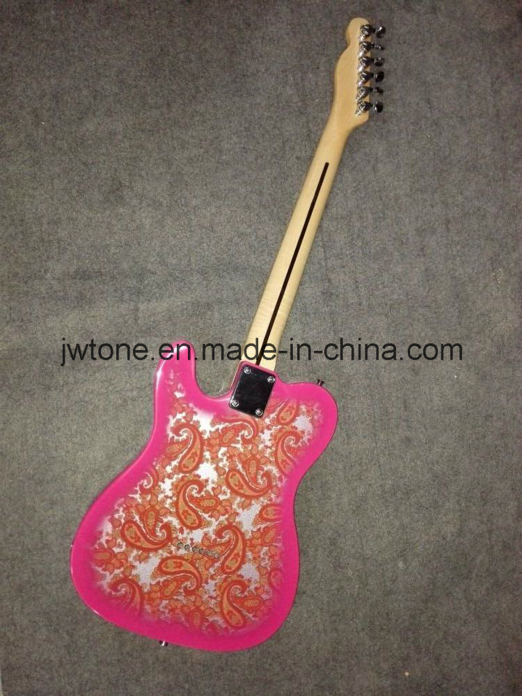 Popular Paisley Quality Tele Electric Guitar