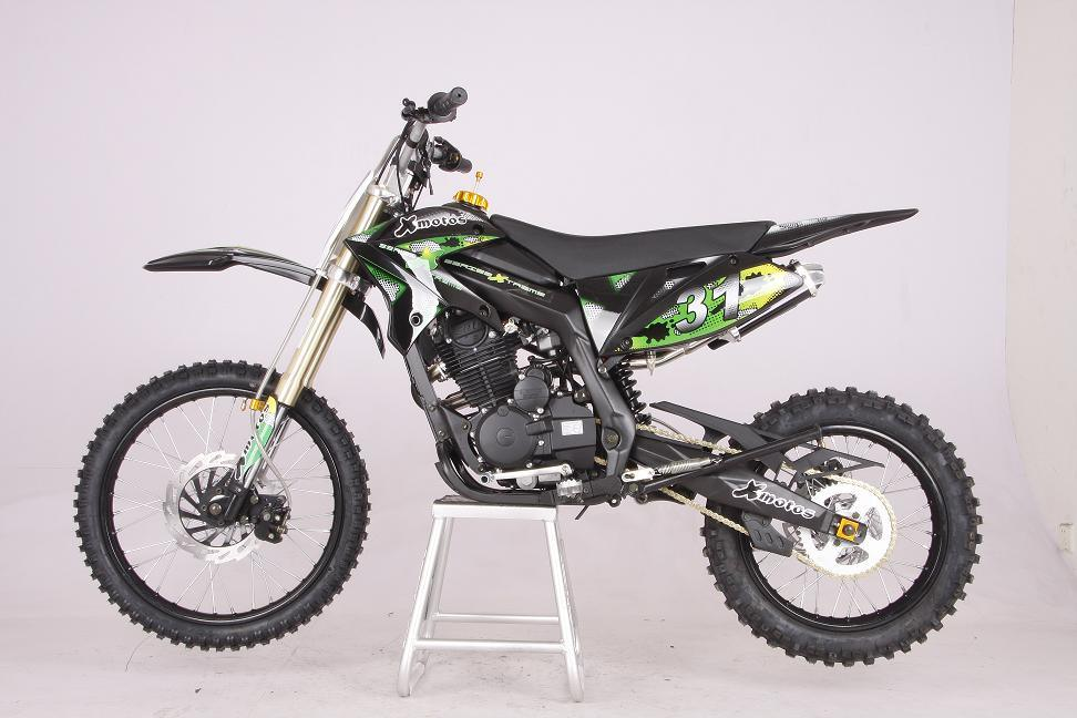 china dirt bike xzt250 xb 31 250cc green china dirt bike motorcycle. Black Bedroom Furniture Sets. Home Design Ideas