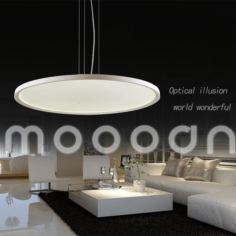 Remote Control Dimmable Office UFO Aluminum White Ultra Thin Surface LED Light Panel for Housing