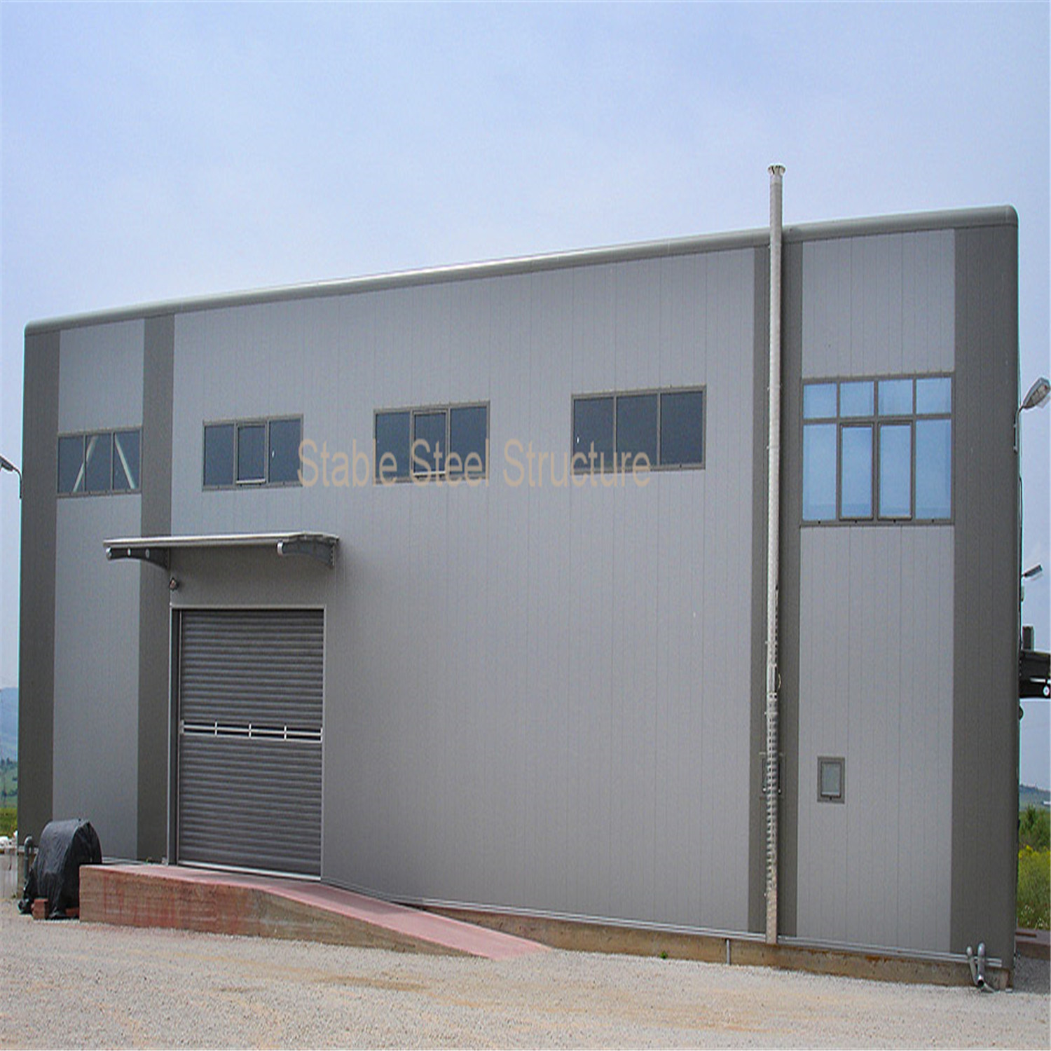 Steel Structure Building for Industrial Workshop/Warehouse/Office
