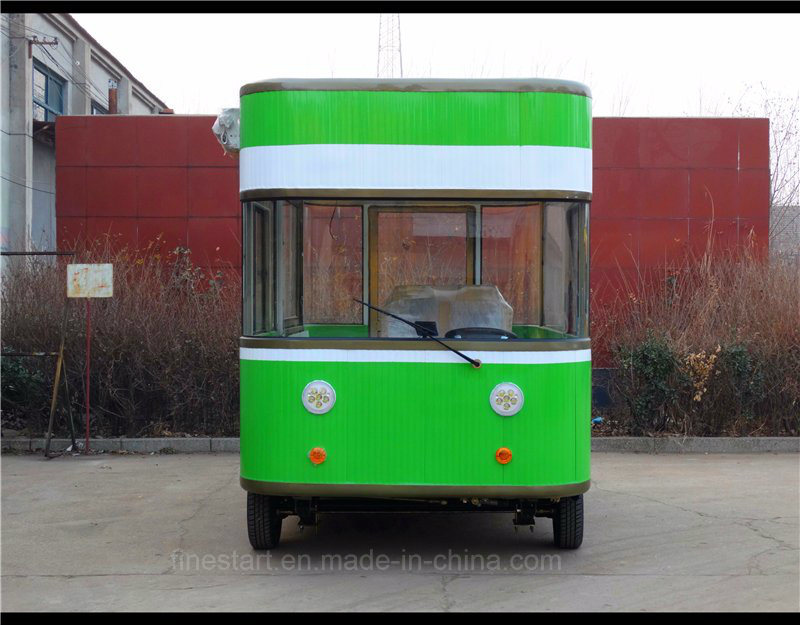 Electric Mobile Dining Car for Cooking Fast-Food Sunch as Ice Cream, Candy, Chocolate, Popcorn, Chips, Biscu, Popcorn, Donut, Drinks