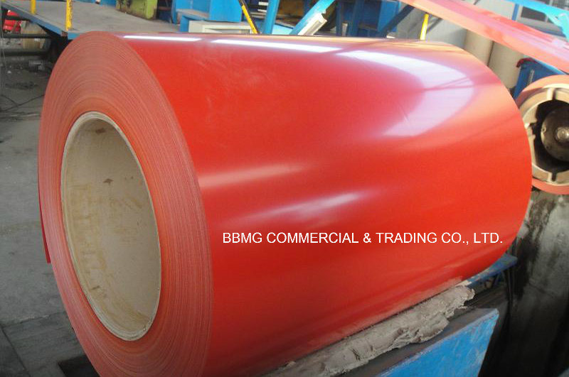 Gi/PPGI with Hot/Cold Rolled Color Coated Prepainted Galvanized Steel Coil