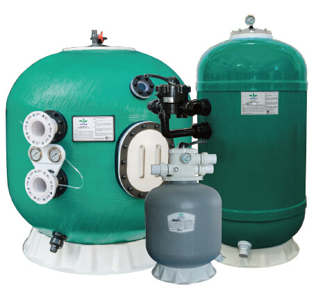 Fiberglass Sand Filters for Swimming Pool