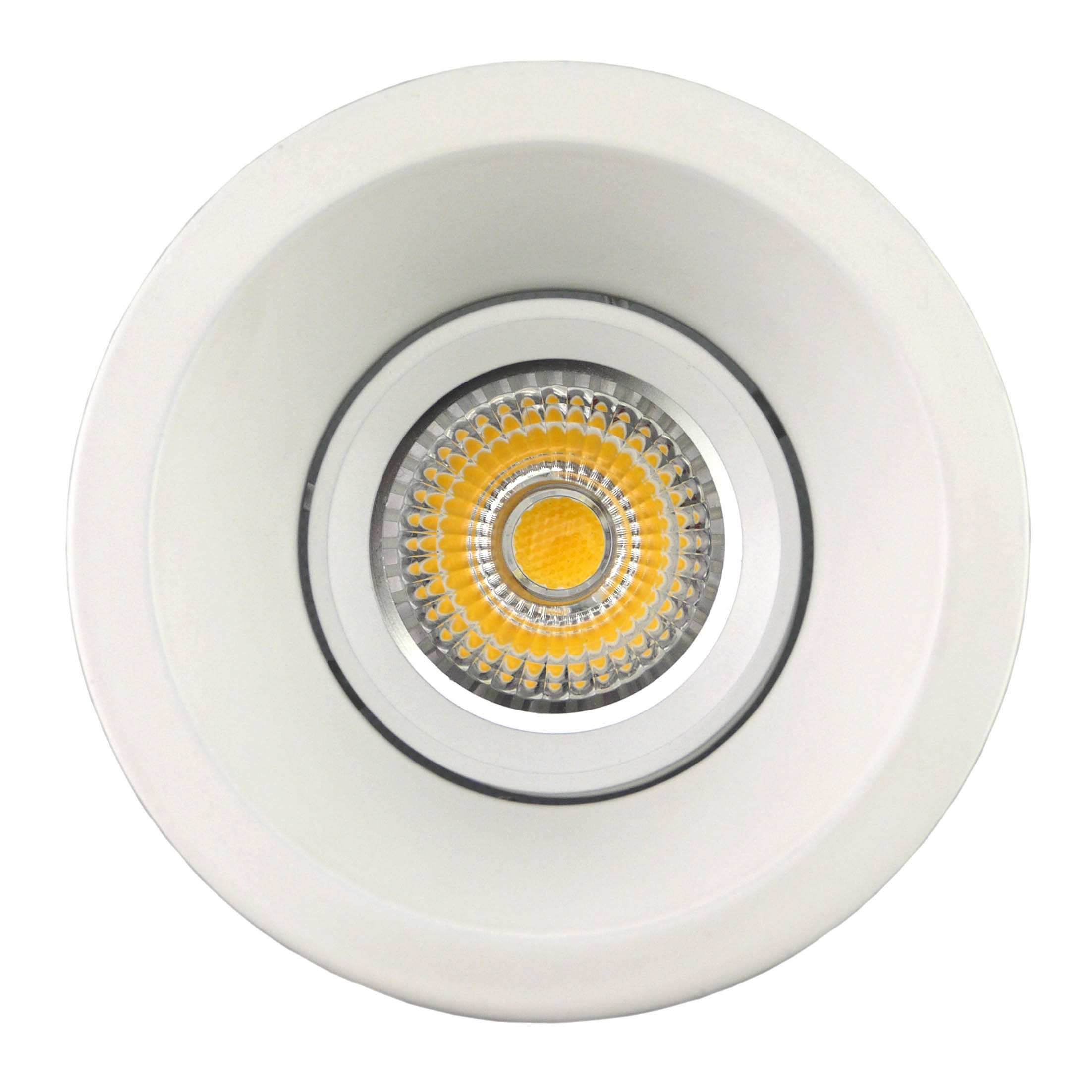 Die Casting Aluminum GU10 MR16 Round Tilt Recessed LED Spotlight (LT1206)