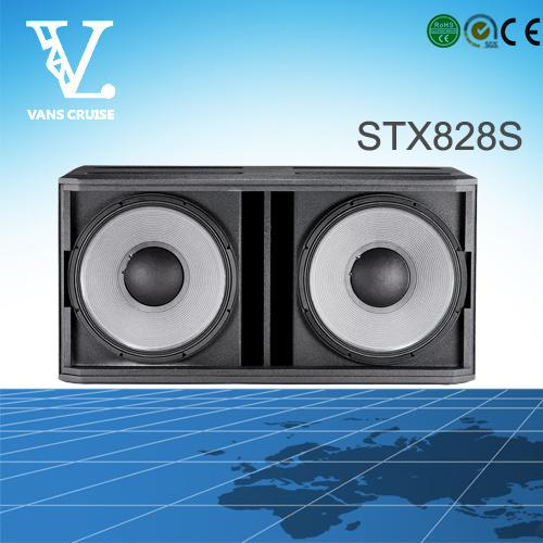 Stx828s Dual 18inch Big Power Outdoor Subwoofer Speaker