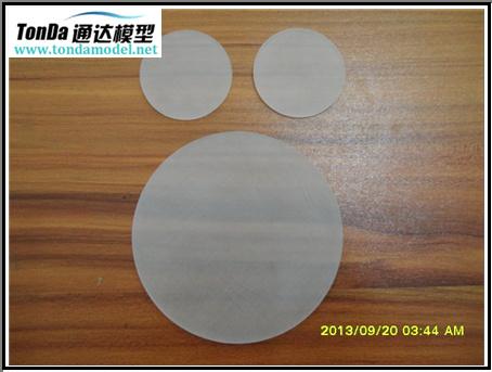 High Quality Transparent PMMA, PC, Rarpid Prototypes CNC Machining Parts