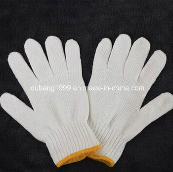 Newest Cotton Knitted Gloves Garden Gloves for Protect Hands