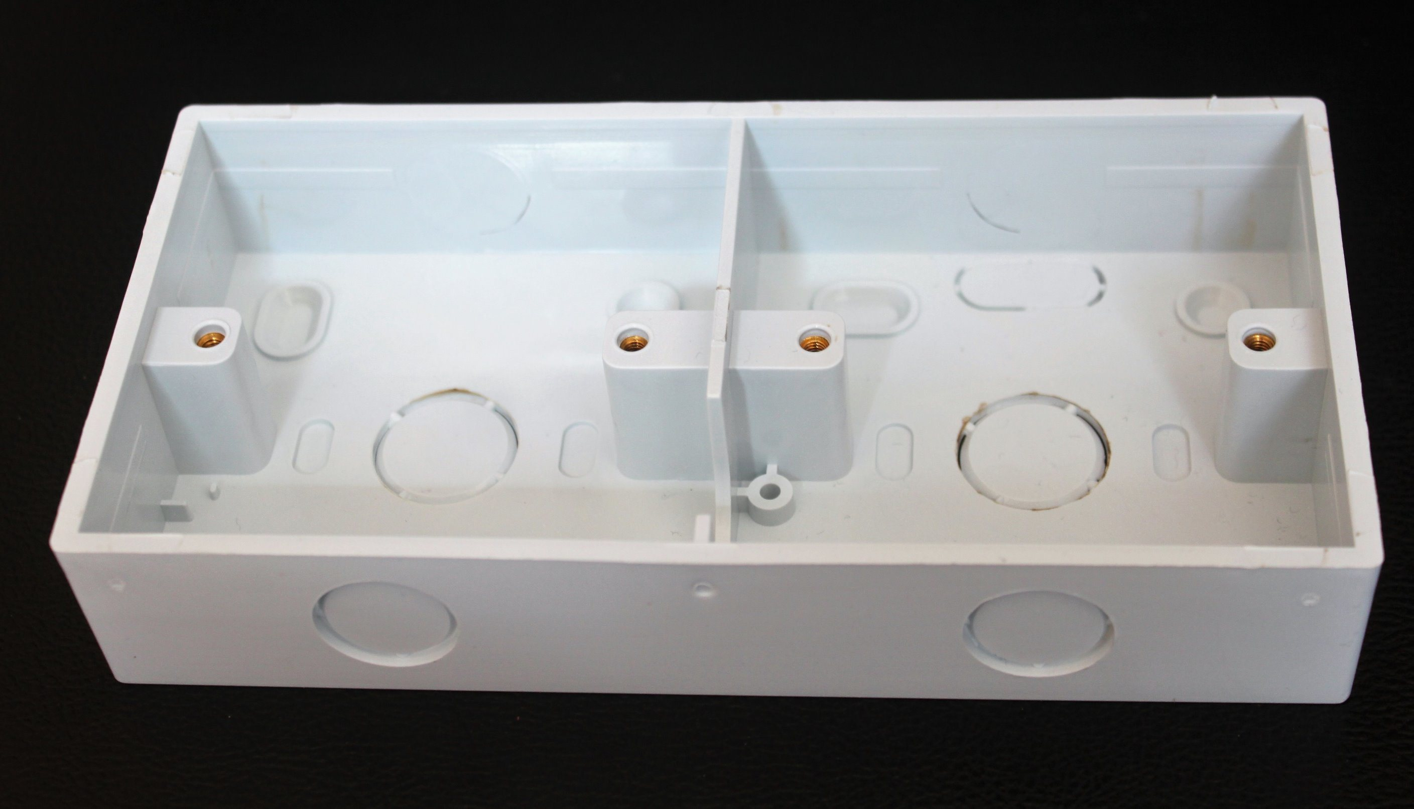 Beauty PVC Electrical Wall Mount Switch Box Electrical Wiring Trunking Solt Box Conduit Box