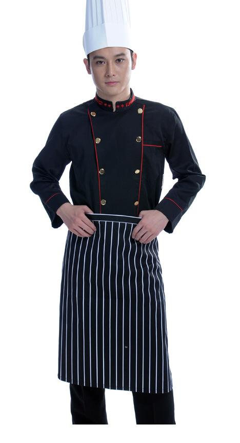 Uniformes de los delantales del cocinero (LSCW006) – Uniformes de ...