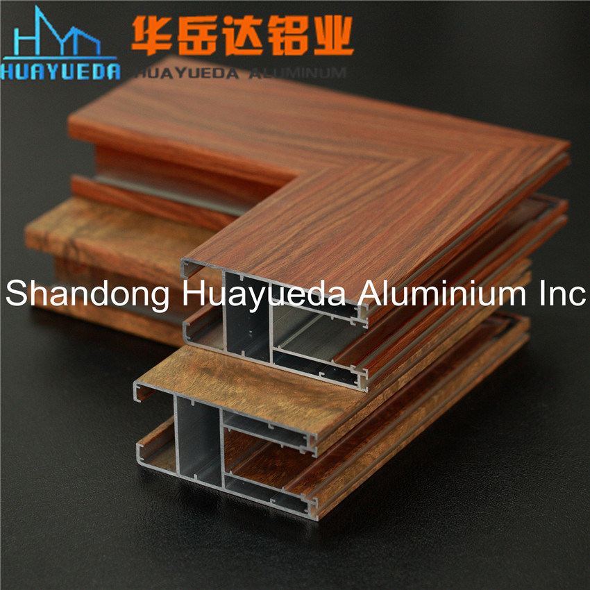 Wood Aluminium Profile/ Aluminium for Door/ Wood Aluminium Windows