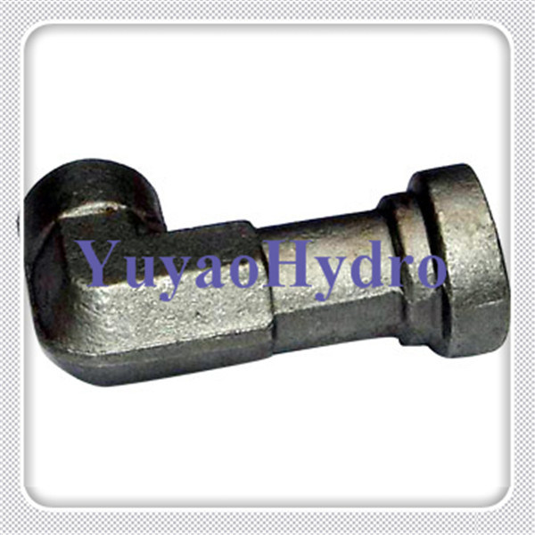 Elbow Flange Forgings for Hydraulic Fittings