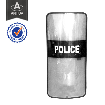 Military Police PC Shield with Rubber Edge