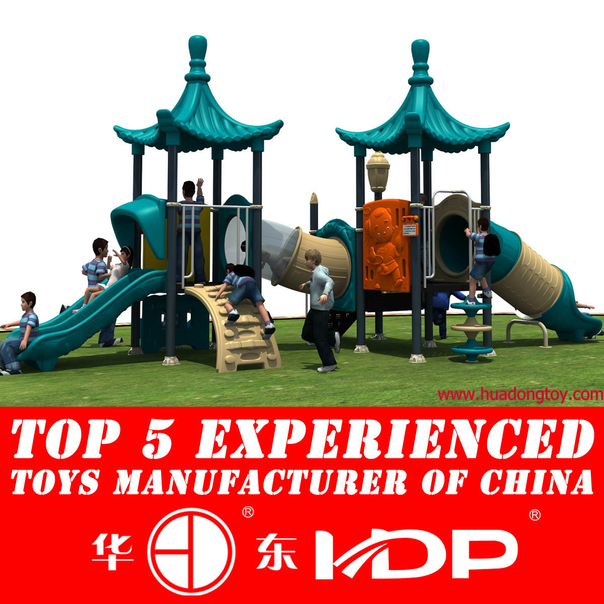Children Play Game Outdoor Equipment Slide for Kids Playground