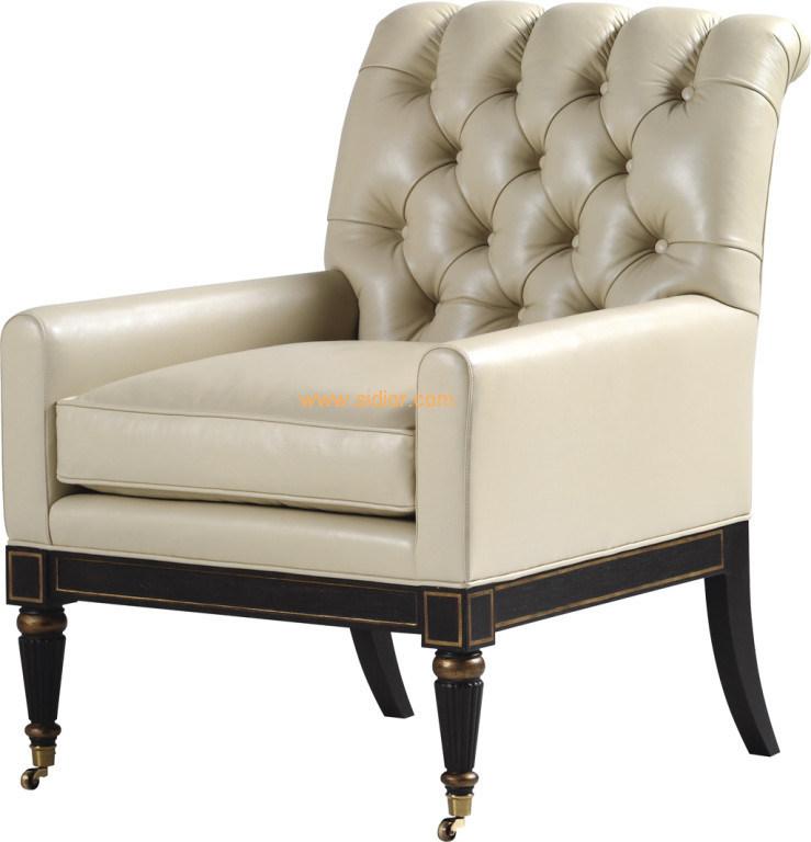 (CL-2235) Antique Hotel Restaurant Room Furniture Wooden Leisure Arm Chair