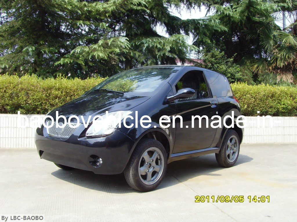 L6E EEC Electric Car (EF-2) Black