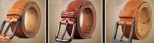 Cow Leather Weist Belt, Men Belt, Women Leather Belts (V674)