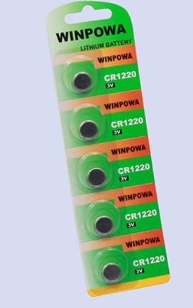 3V Primary Lithium Battery Cr1620 for Finger Top