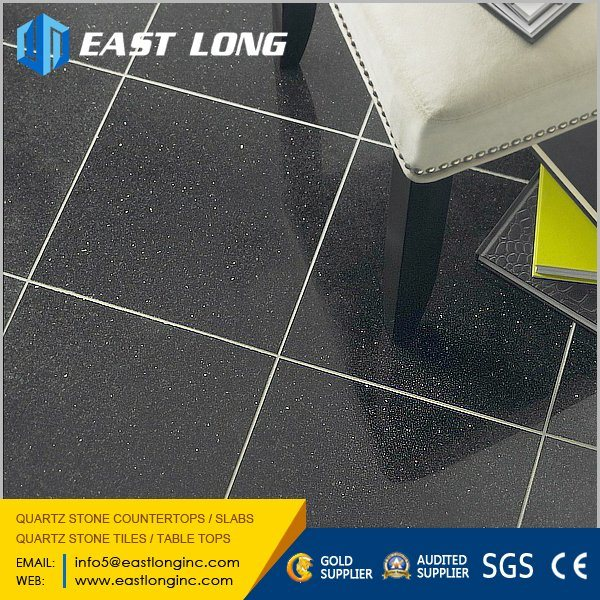 Cheap Sparkling Polished Quartz Stone Tiles for Wholesale Engineered Stone Slabs