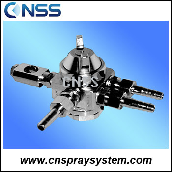Compressed Air Atomizing Nozzle Stainless Steel Fog Nozzle