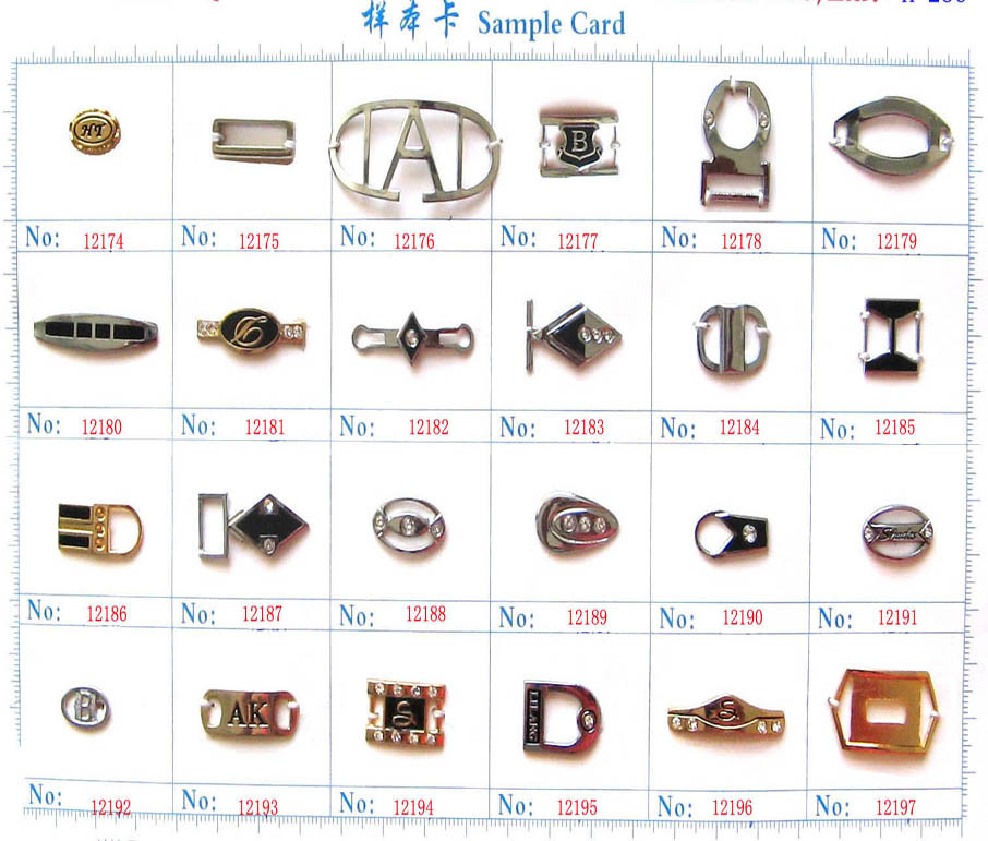 Metal Accessories for Shoes/Bag/Cloth (12174~12197)