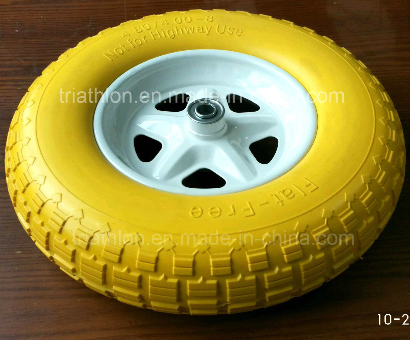 16X4.80/4.00-8 R1 Flat Free Wheel Barrow Wheels