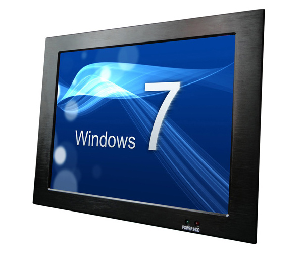 17'' Atom N270 1.6GHz Industrial Touch Panel PC with PCI Slot (IPPC-1727)