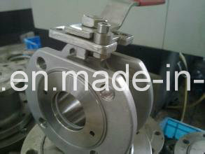 High Platform Flange Ball Valve