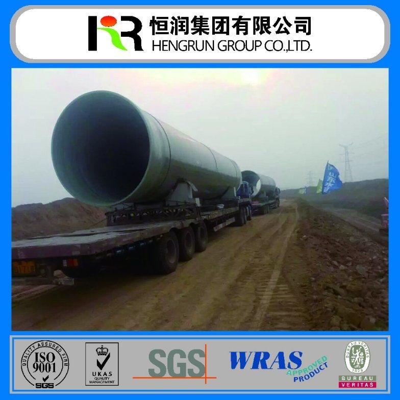 Well Saled Reinforced Fiberglass Pipe (DN100-DN4000)