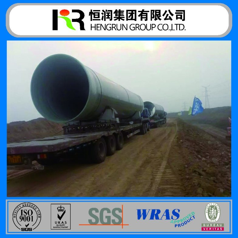 Well Saled Reinforced Fiberglass Pipe