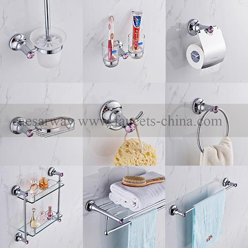 Chromed Bathroom Accessories