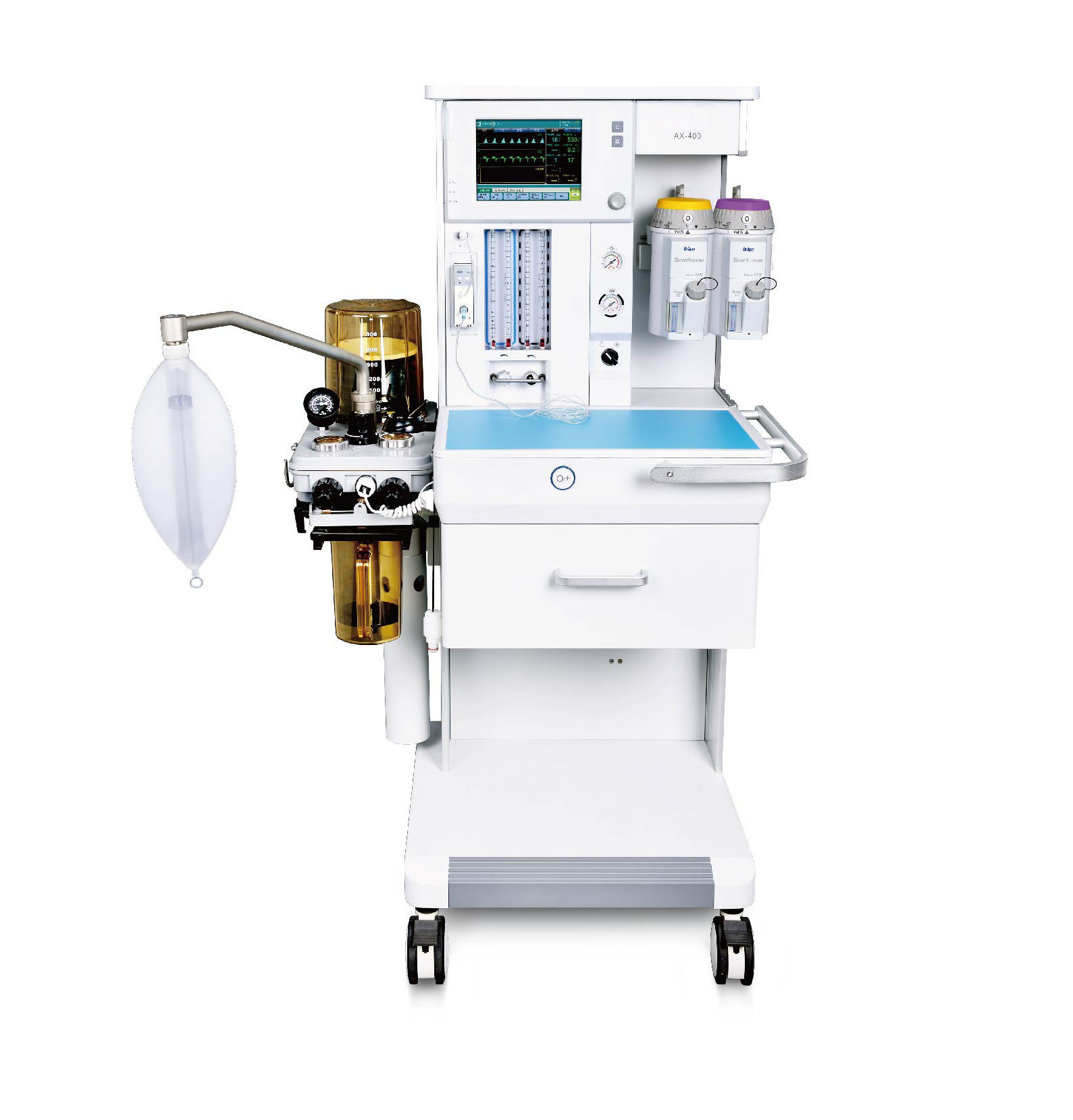 Touch Screen Anesthesia Machine with Ventilator Anesthesia with Ce (SC-AX400)