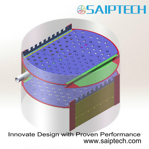 Valve Trays with Innovate Design and Proven Performance