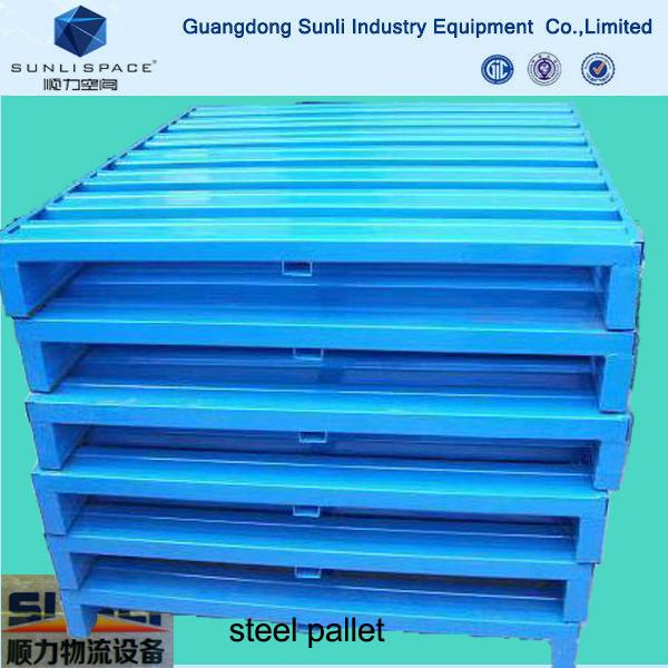 Warehouse Multi Purpose Storage Galvanized Steel Pallet