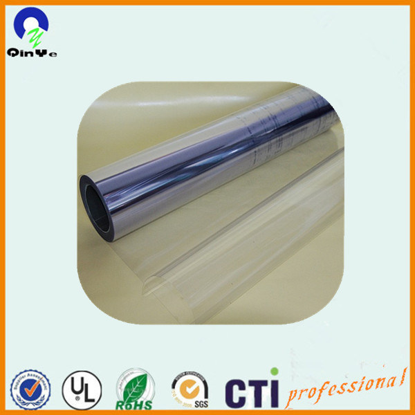 Blister Box Glossy Surface Clear Film Rigid PVC Sheets