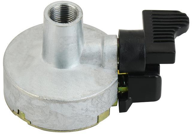 LPG Unreducer Pressure Adaptor with Elbow (E12)