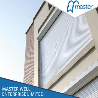 Manual Insulated Roller Shutter Slat Aluminum Window