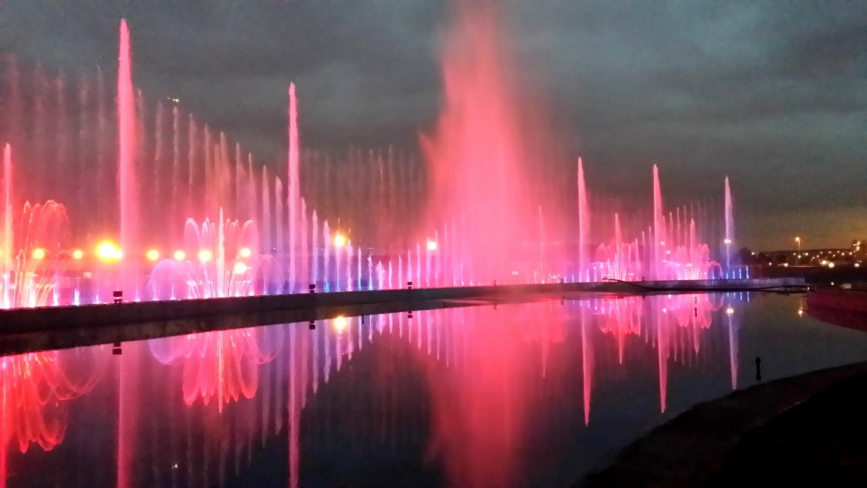 Music Fountain Outdoor Dancing Fountain in Anka Park Turkey