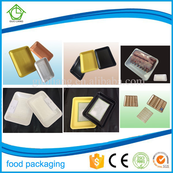 Custom Food Packaging Tray Manufacturer Plastic Oyster Serving Platter for Oyster Packaging