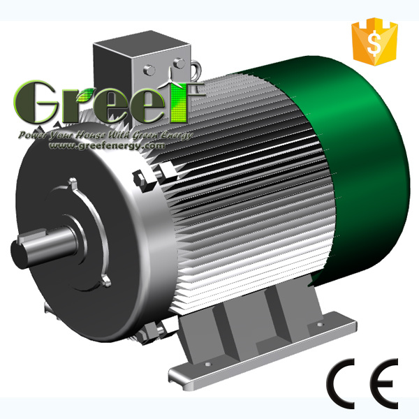 5000kw Brushless Permanent Magnet Generator with BV