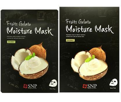 Skin Care OEM Hydro Facial Coconut Face Mask