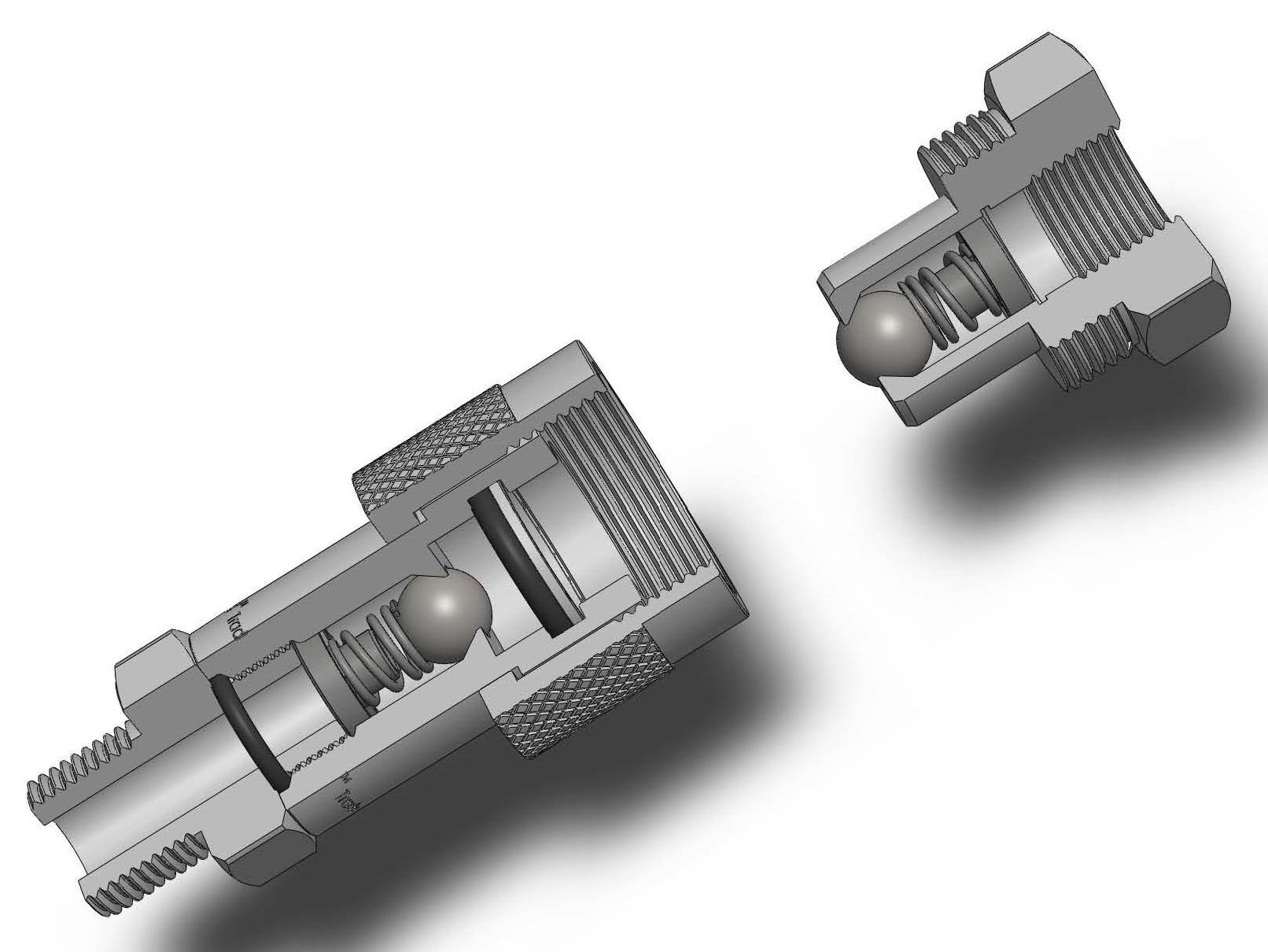 High Pressure Coupler : China hydraulic quick coupling high pressure screw type