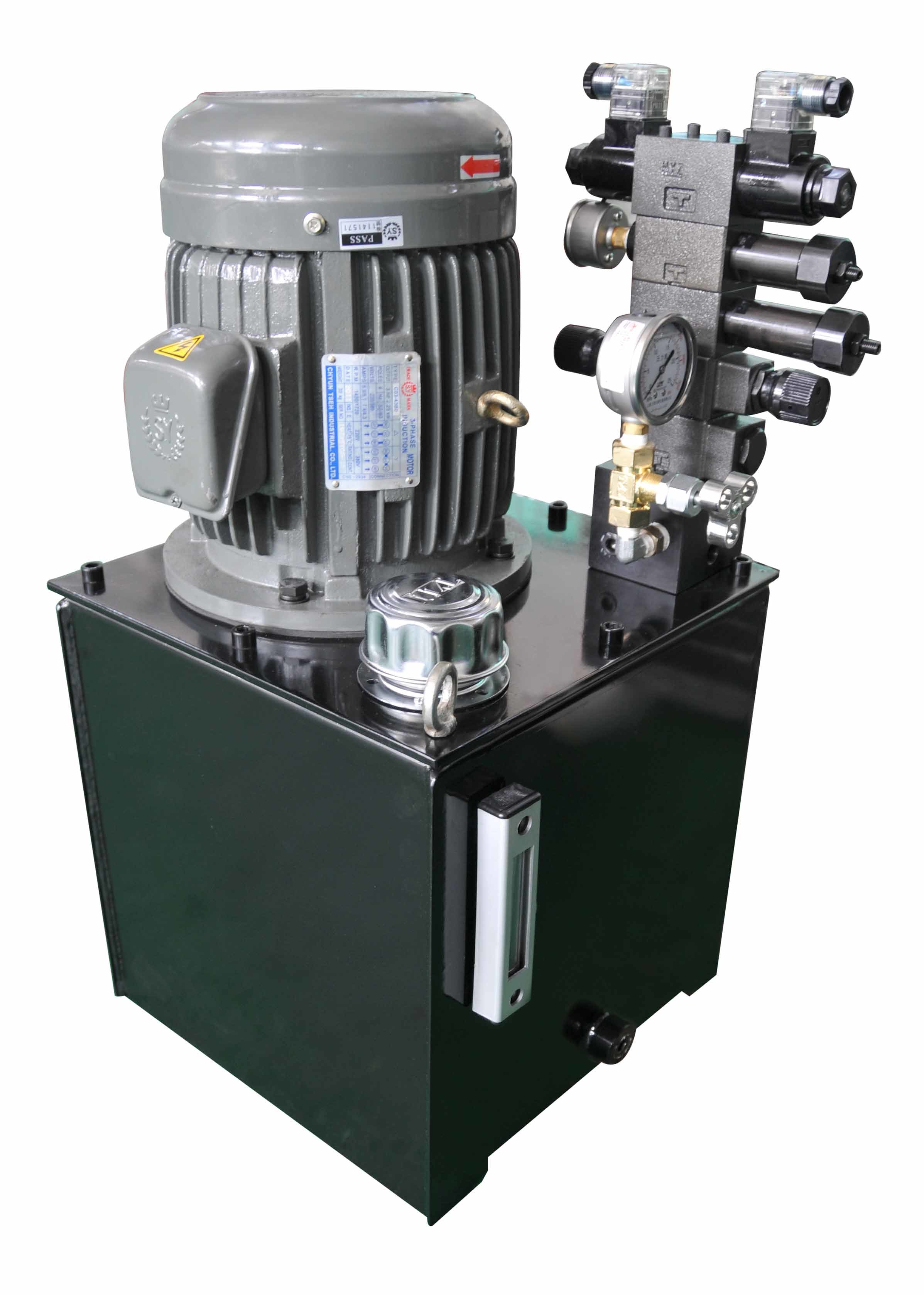 Vertical Power Unit for Hydraulic Station