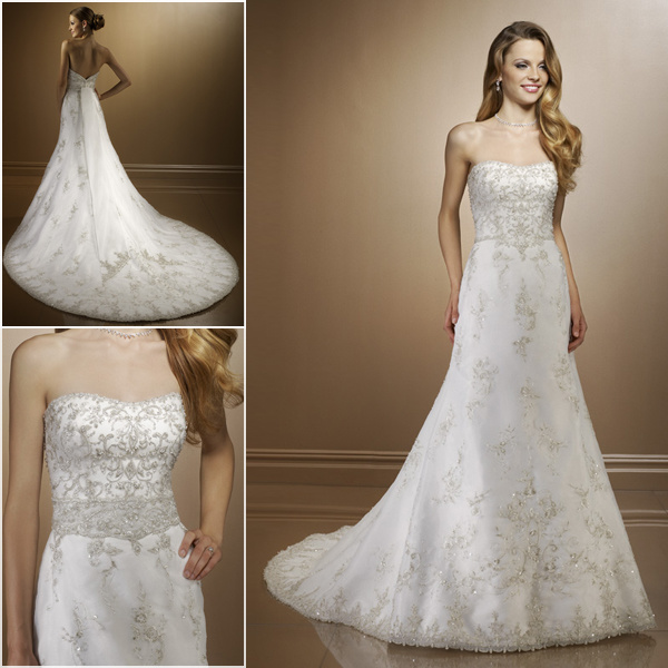 Unique Wedding Dress Saucy Bridal Gown UK2190