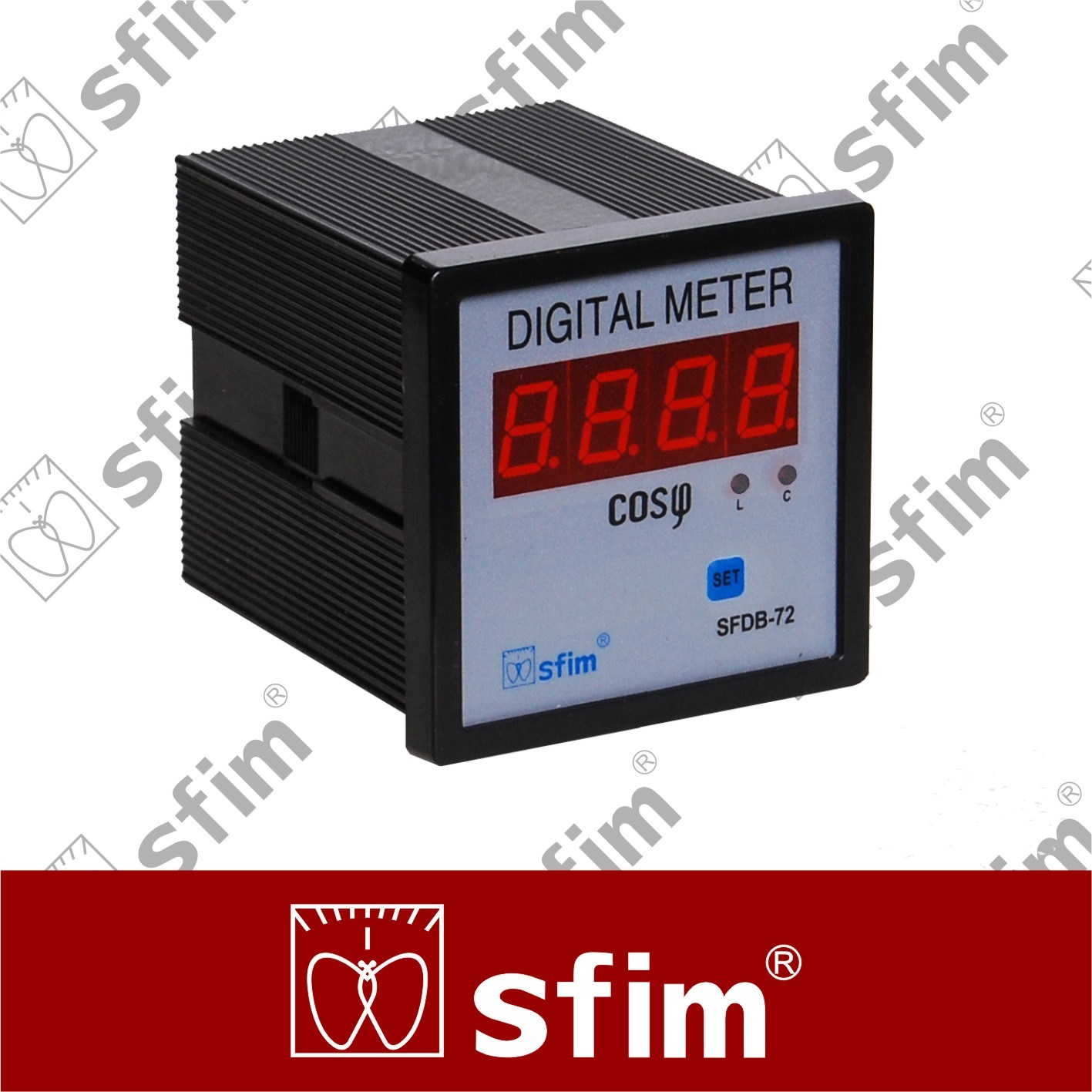 Power Factor Meter Analog : China sfd series digital power factor meter phase