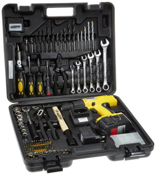 76PCS DIY Cordless Drill Tool Sets (FY1075B)