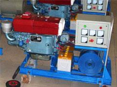 Single Cylinder Diesel Engine with Light and Horizontal Four-Stroke (zs1100---zs1125)