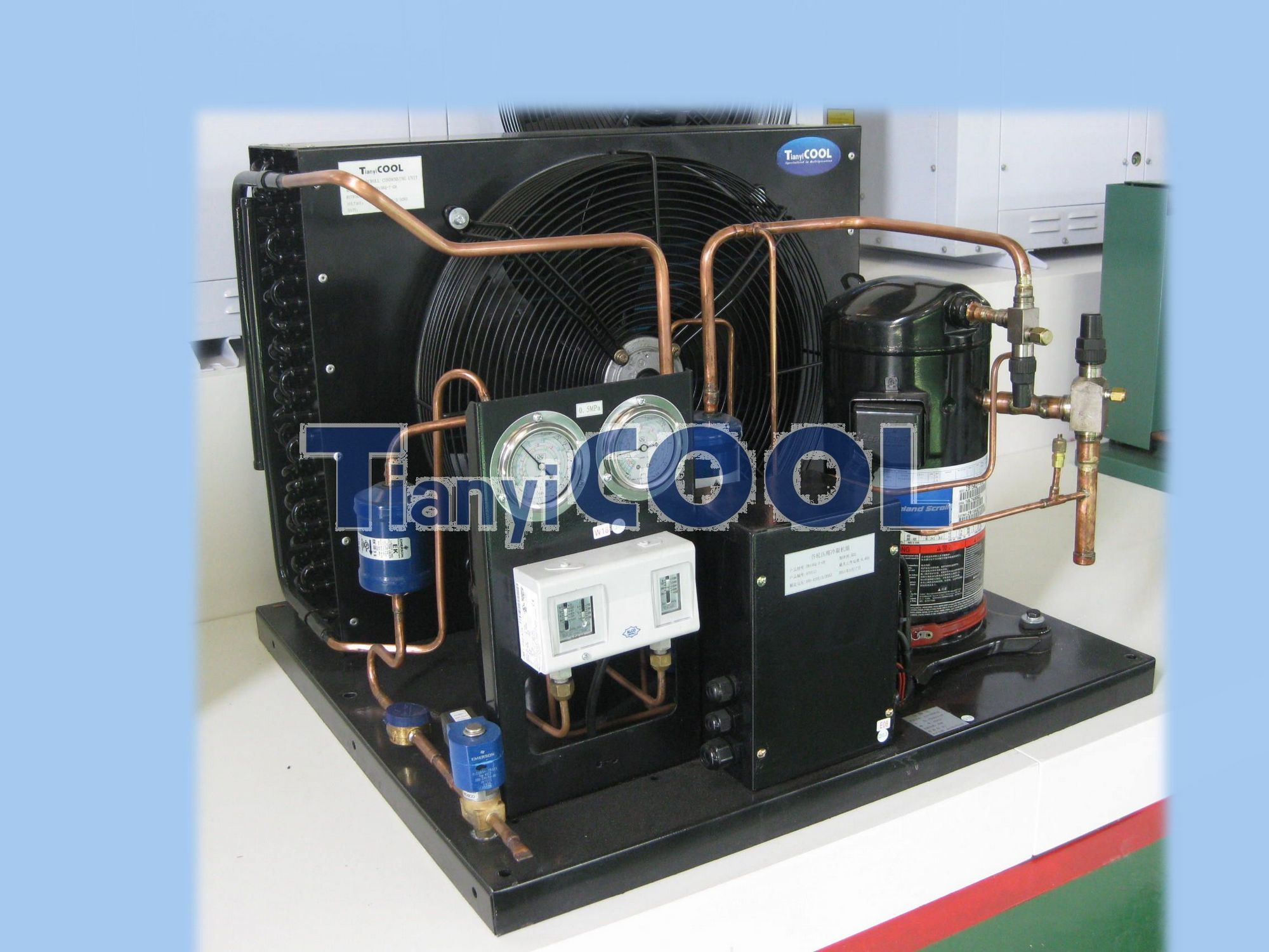 Condenser Features All Totaline refrigeration condensers provide the  #2064AB