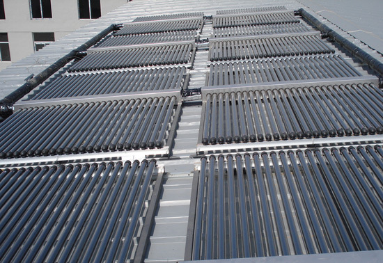 Solar Water Heater Project with Non-Pressure Collector