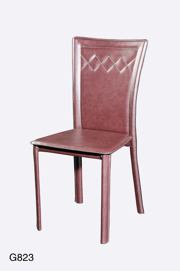 China metal chair dining chair living room furniture g823 for Metal living room chairs