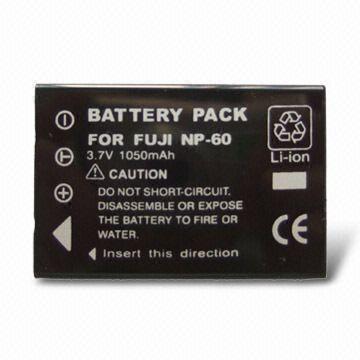 3.7V Replacement Digital Camera Battery for Olympus LI-60B